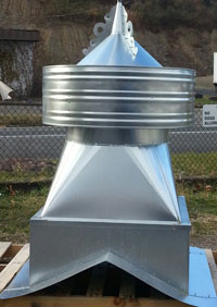 48 Galvanized Barn Vent Some In Stock Bvspec48gal