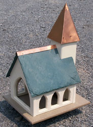 Forever polylumber bird feeder.Mounts over a 4x4 POST $135.00